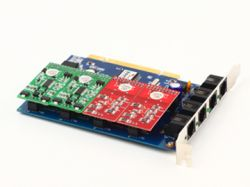Voip  Card 410 P( Fxo/fxs With Pci Interface)