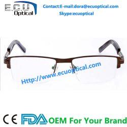 Half Frame Eyeglasses Frame Aluminum Alloy Die